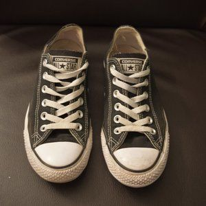 Black Converse All Star Sneakers Sz 7